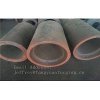 China C15  Forged Sleeves  Forged Tube / Block with hole Forged Ring Normalized And Proof Machined factory