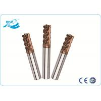 Buy cheap 60 Degree Hardness Tungsten Steel Square End Mill With 1mm - 25 mm Diameter from Wholesalers