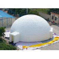 China Waterproof Event Inflatable Sphere Tent With Air Pump And Repair Kits factory
