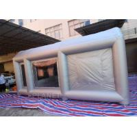 China 6m Long  Inflatable Spray Paint Tent With PVC Tarpaulin Or Oxford Cloth Material factory