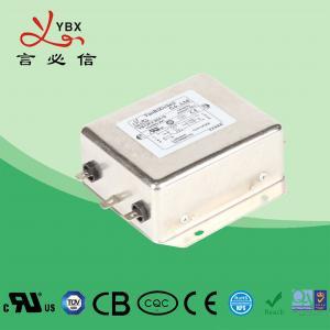 China 30A 250V 440VAC Low Pass EMC Line Filter For Servo Motor OEM Service factory