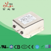 China High Performance DC Line Noise Filter / 1A-60A EMI RFI Noise Filter factory