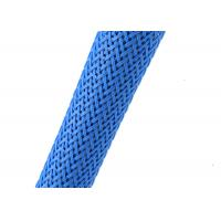 Buy cheap 32mm Nylon Mesh Cable Sleeve , Custom Size Expandable Nylon Sleeving from Wholesalers
