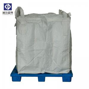 China Custom 1 Ton Jumbo Bag , FIBCPolypropylene Jumbo Bags For Cement Fertilizer factory
