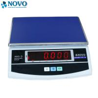 Buy cheap Table Top Accurate Digital Scale Square Electronic Platform Low Battery Indicator from Wholesalers