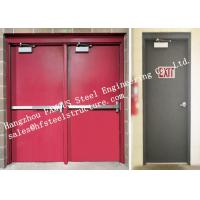 Buy cheap Residential Steel Fire Resistant Industrial Garage Doors With Remote Control from Wholesalers