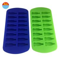 Buy cheap Water Bottle Cylinder Decorative Silicone Ice Cube Trays Multi Purpose Storage Trays from Wholesalers