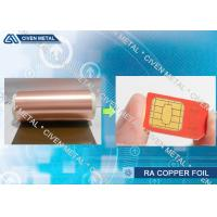 Buy cheap Electro - Deposited PCB Copper Foil Sheet For FPC And FCCL Fine Circuit Application from Wholesalers