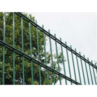 China Double Welded Wire Fence Panels , Easy Installation Powder Coated Wire Mesh Fencing on sale