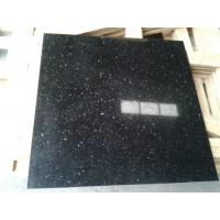 China Star Black Galaxy Granite Counter Top,Vanity Tops,Black Galaxy Granite Tiles,Imported Granite Tile on sale