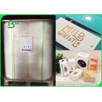 Buy cheap 250 / 300gsm FSC certified good printing glossy Folding box board in roll from wholesalers