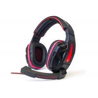 Easy Operation Usb Gaming Headset , Pc Gaming Headset With Mic Skin Friendly Material