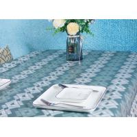 China Wood Pulp Disposable Paper Tablecloth Printed Eco - Friendly For Wedding factory