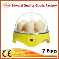 Buy cheap CE Approved Hot Selling Mini 7 eggs incubator for sale from wholesalers