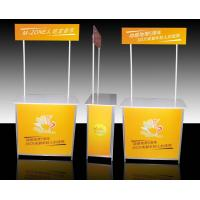 Buy cheap Aluminum Promotional Display Counter High Resolution Digital Printing from Wholesalers