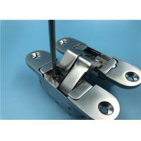 China Proven Design Adjustable SOSS Hinges / 180° Opening Invisible Cabinet Hinges factory