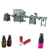 China Full Automatic Essential Oil Filling Machine With Peristaltic Pump / Piston Pump factory