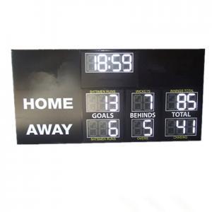 China High Brightness Electronic Football Scoreboard Clock With Installation Brackets factory
