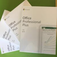 Buy cheap Microsoft Office Products Office 2019 Professional Plus Pro Plus Full Package And Keycard from Wholesalers