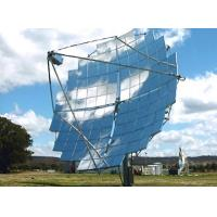 China Silver Coated Clear Glass CSP Solar Mirror 1.1mm For Sterling Solar Plant factory