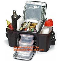 China custom polyester non woven cans thermal frozen food lunch insulated cooler bag factory