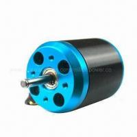 Buy cheap Blue Silver Outrunner Brushless DC Motor with 500kV Rational Speed, Suitable for RC Airplane from Wholesalers