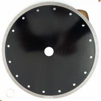 China 8 Inch Continuous Diamond Cutting Blade ,   Angle Grinder 105mm  Diamond Tile Cutting Disc on sale