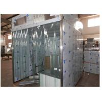 Sampling / Dispensing Booth For Powder Weighting , Positive Pressure Clean Room ISO 5