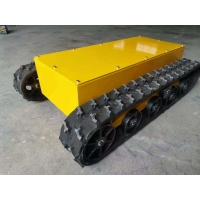China Rubber Track Undercarriage with 48V 1.5KW electric motor factory