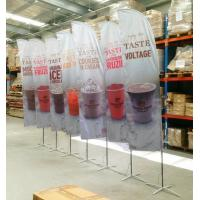 Buy cheap Full Printed Polyester Beach Flag Banner , Flying Banners And Flags Outdoors & Accessories from Wholesalers