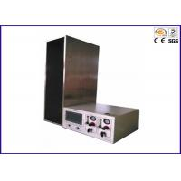 China Single Cable and Wire Testing Equipment Vertical Flame Spread Tester IEC 60332-1 on sale