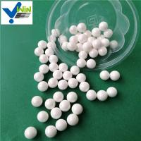 China Wear resistance white zirconia ceramic grinding ball used on mill machine factory