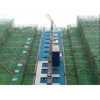 Buy cheap Rack Pinion Hoist Function Degree A8 Material Hoist Construction from wholesalers