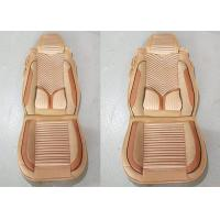 Buy cheap Multi Color Suede Car Seat Covers , Front And Rear Car Seat Accessories No Smell from wholesalers