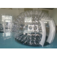 China Outdoor Camping Party Activity Clear PVC Inflatable Transparent Dome Tent With Doors factory