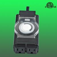 Buy cheap 24hours heavy duty Outdoor mechanical timer, grounded from wholesalers