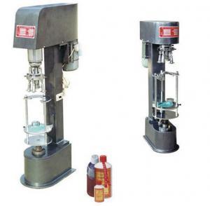 Buy cheap JGS-980 Multi-purpose wine bottle aluminum cap capping machine from Wholesalers