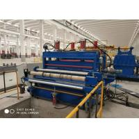 China Hydraulic Cutting Mechnical Galvanized Metal Slitting Line RS 3.0-10.0 Green Or Blue factory