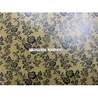 China Gift Wrapping Paper Automatic Embossing Machine with Online Printing factory