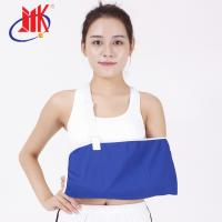 China Osky Neoprene Arm Sling Medical Blue Cloth In First - Aid For Neck Pain Relief factory