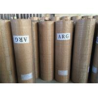 Buy cheap Multi Functional Galvanised Welded Mesh Rolls Anti Oxidation Welded Weave Style from wholesalers