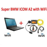 Laptop BMW Diagnostic Scanner ICOM A2 Interface WIFI For Diagnostic Auto Scanner