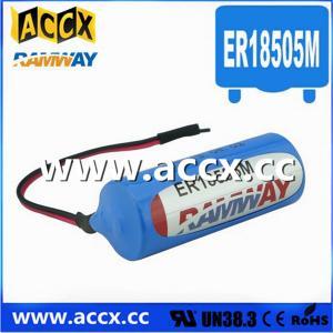 China 3.6V ER18505M Lithium Thionyl Chloride Battery (er14250mer14335m er14505m er26500m er3461m factory