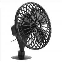 """China 4"""" Plastic Automotive Electric Cooling Fans / Black Electric Fans For Cars factory"""