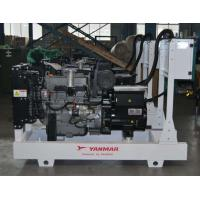 Buy cheap Manual Auto Control Yanmar Diesel Generator 40kva Power Station ISO9001 Approved from Wholesalers