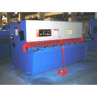 Buy cheap CNC Stainless Steel Hydraulic Sheet Metal Shear For Iron Carbon Sheet from Wholesalers