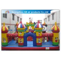 Buy cheap Colorful Inflatable Amusement Park , Fun City Commercial Inflatable BouncersCastle from Wholesalers