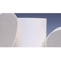 Buy cheap Diesel SCR Substrate System , Cordierite Honeycomb Ceramic Support from Wholesalers