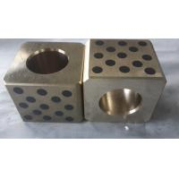China JDB-P Flat guide bar, Bronze with solid lubricant plate,oiles guide plate self lubricating plate JSP WEAR PLATE factory