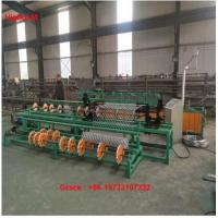 China 4m Full Automatic Double Wire Feeding Diamond Wire Mesh Fence Making Machine factory
